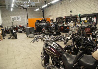 Officina Harley Davidson, Brixton, Lambretta Ticino